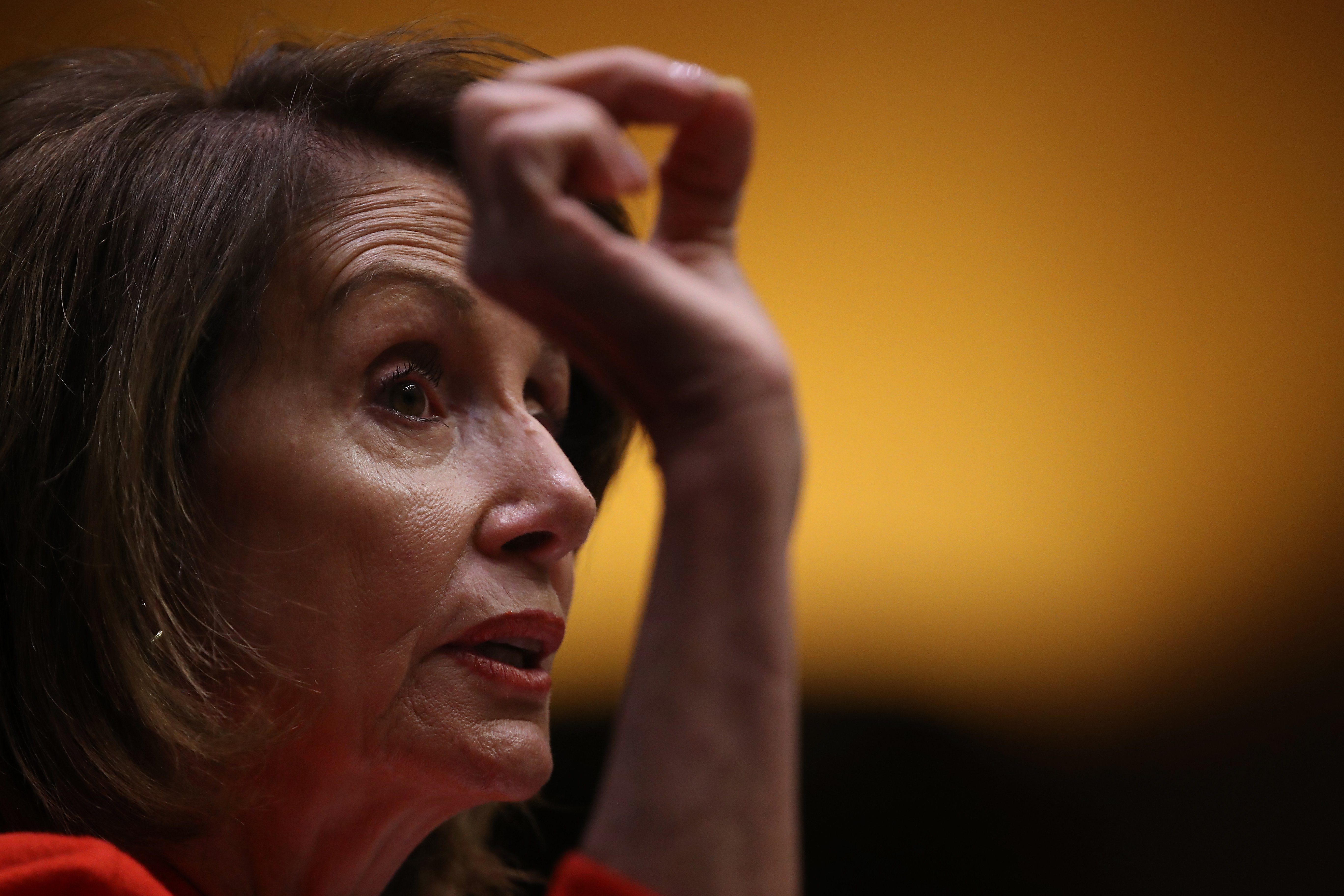 House of Representatives Nancy Pelosi speaking at Capitol Hill | Photo: Getty Images