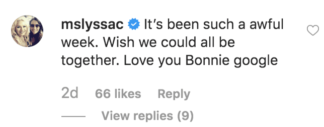 Lyssa Chapman comments on her sister, Bonnie's birthday tribute to Beth Chapman | Source: instrgam.com/bonniejoc