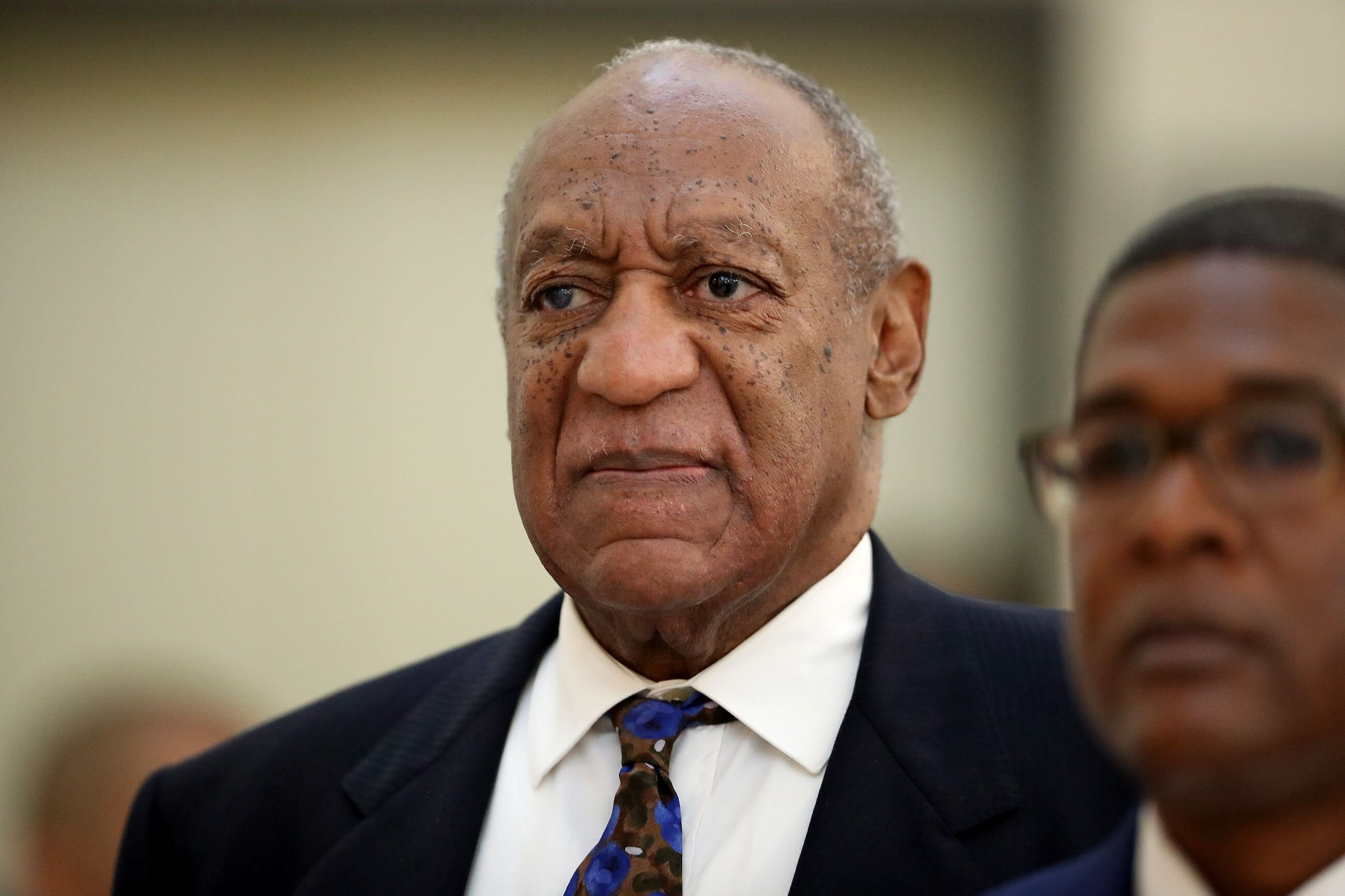 Bill Cosby arrives for his sentencing at the Montgomery County Courthouse. | Source: Getty Images