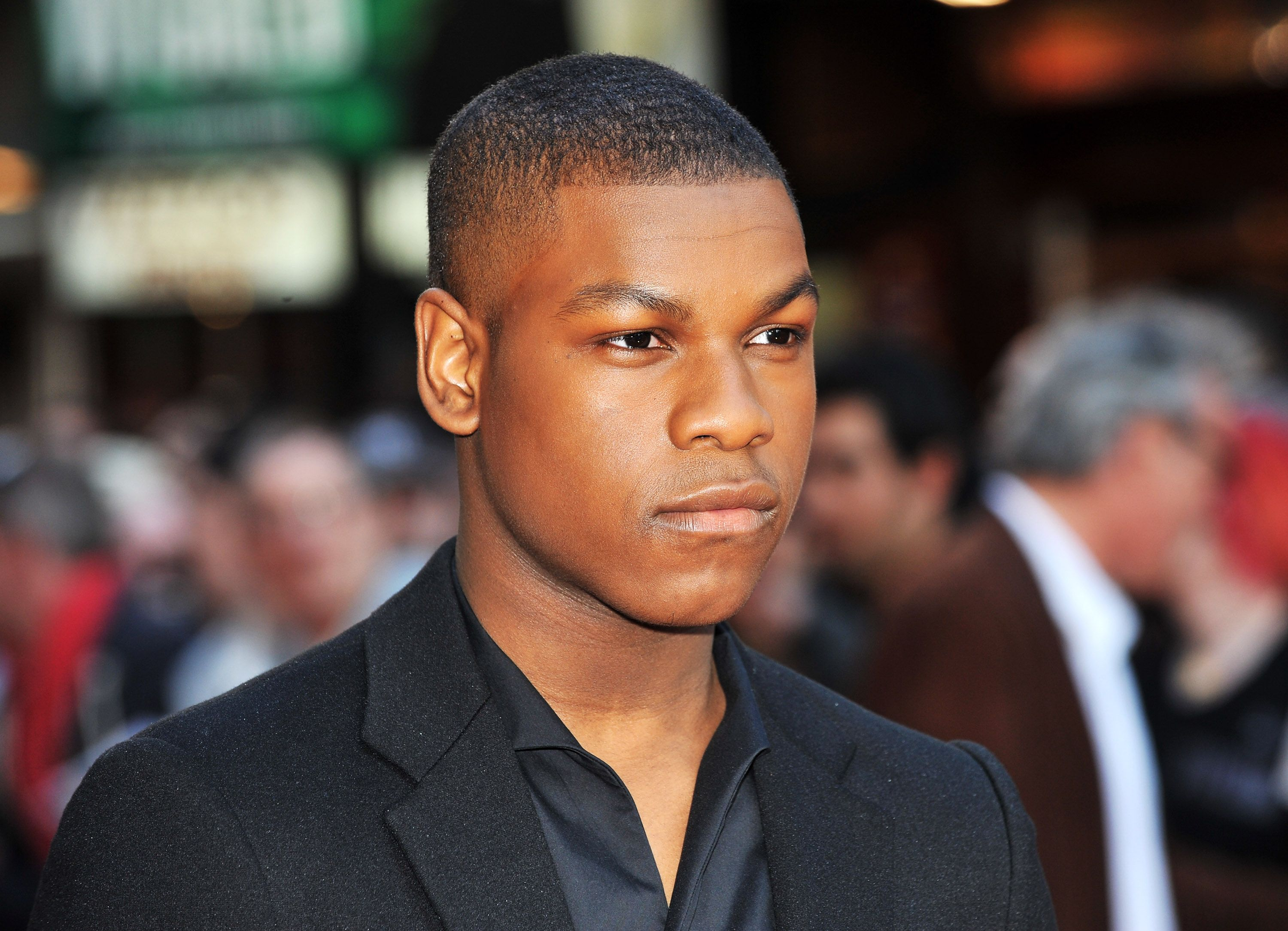 "Actor John Boyega at the UK premiere of ""Attack the Block"" in May 2011. 