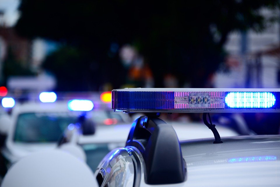 Gyrophare d'une voiture de police | Photo : Pixabay