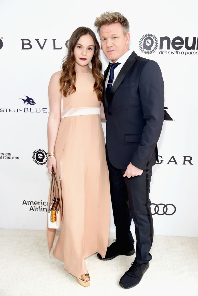 Gordon Ramsay and Holly Anna Ramsay at the 25th Annual Elton John AIDS Foundation's Oscar Viewing Party | Getty Images