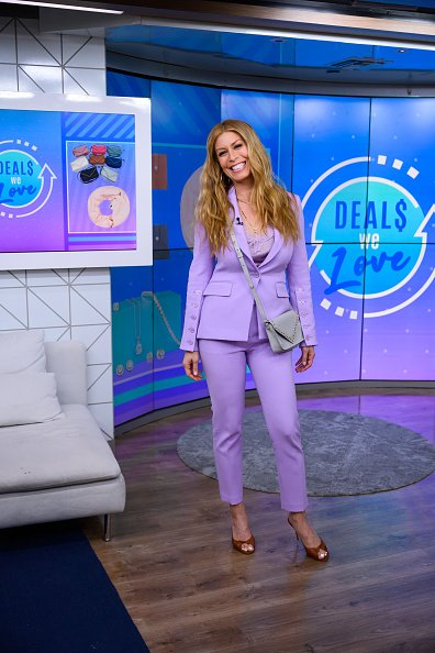 Jill Martin on set of Today Season 69 on Wednesday, March 4, 2020 | Photo: Getty Images