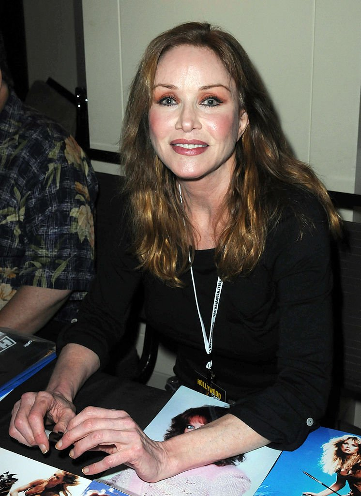 Tanya Roberts at day 1 of The Hollywood Show held at Westin LAX on January 12, 2013 | Photo: Getty Images