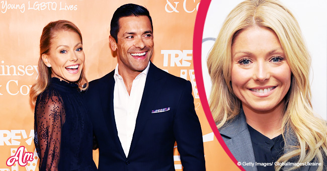 Kelly Ripa Accepts an Award at an LGBTQ Gala Hosted by The Trevor Project
