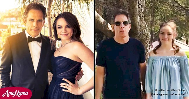 Ben Stiller turned his red-carpet appearances with daughter into tradition - now she is all grown up
