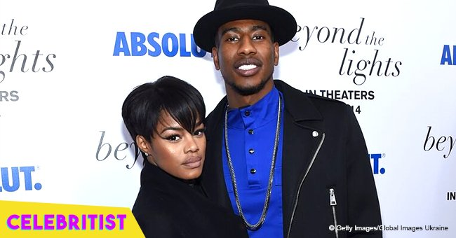Teyana Taylor can't keep her eyes off her husband while he's performing on stage