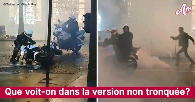Provocation ou légitime défense: les gilets jaunes se battent avec la police sur les Champs-Élysées