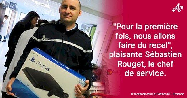 Le Père Noël en Essone: des officiers de police offrent des consoles volées à des enfants hospitalisés