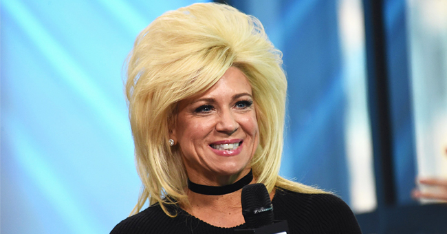 Theresa Caputo's Fans Compliment Her Curly Hair in a Throwback Photo with Her Son Larry