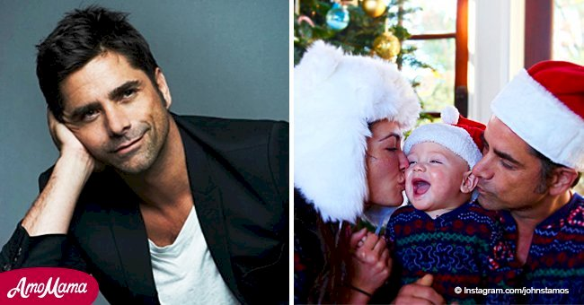 John Stamos delighted fans with adorable Christmas photo of his newborn son