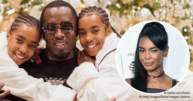 Diddy and his twin daughters spend Christmas together after the passing of their mom Kim Porter