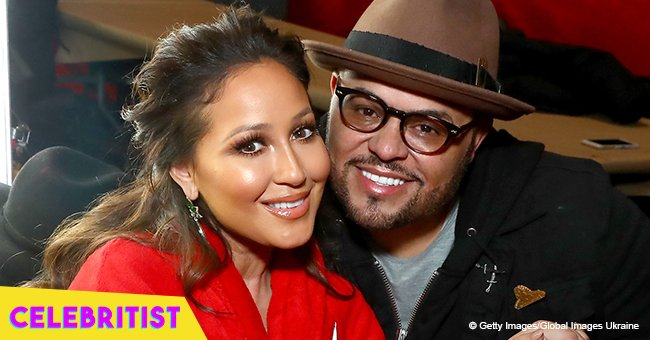 Israel Houghton plants a kiss on wife Adrienne Bailon in romantic photo from Italy trip