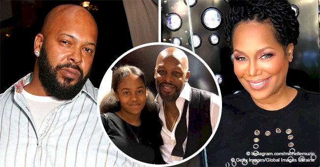 Michel'le & Suge Knight's Daughter Is All Grown up and Resembles Her Parents a Lot