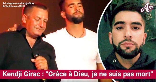 """""""Grâce à Dieu, je ne suis pas mort"""": l'accident qui aurait pu coûter la vie à Kendji Girac"""