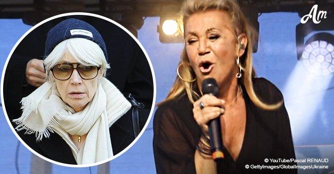 Sur scène, Sheila a partagé des nouvelles sur la santé de Françoise Hardy, souffrante d'un cancer de la peau