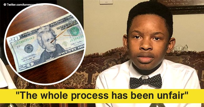 Black honor student gets suspended after unintentionally using fake money to pay for lunch