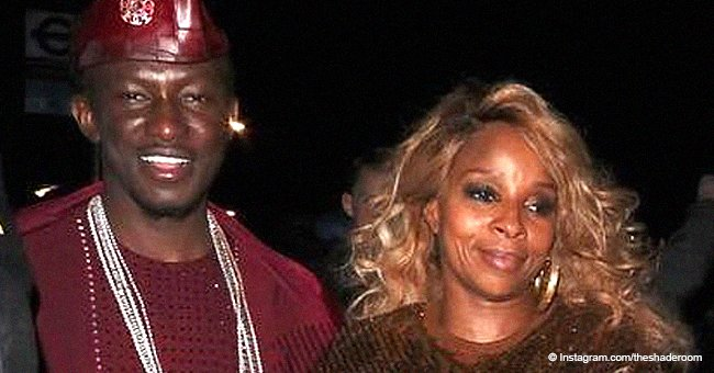 Mary J. Blige spotted holding hands with her rumored new man while in London