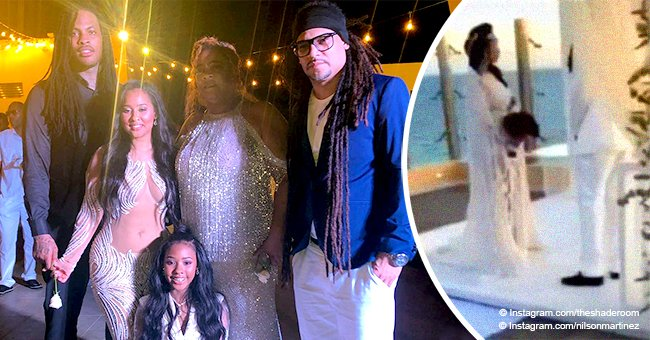 Waka Flocka and Tammy Rivera hold wedding ceremony in Mexico 5 years after tying the knot