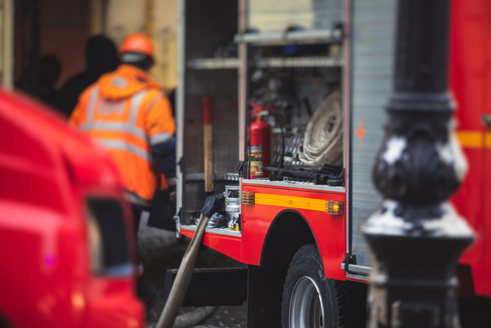 A photo of fire fighters getting ready for a rescue operation   Photo: Shutterstock
