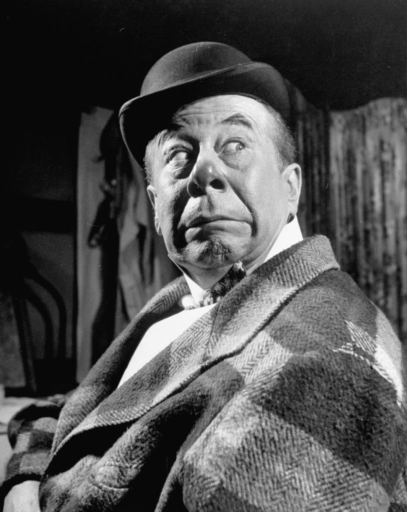 Late Actor/Comedian Bert Lahr Mugging in the Broadway Production of the play Burlesque On May 01, 1947   Photo: Getty Images