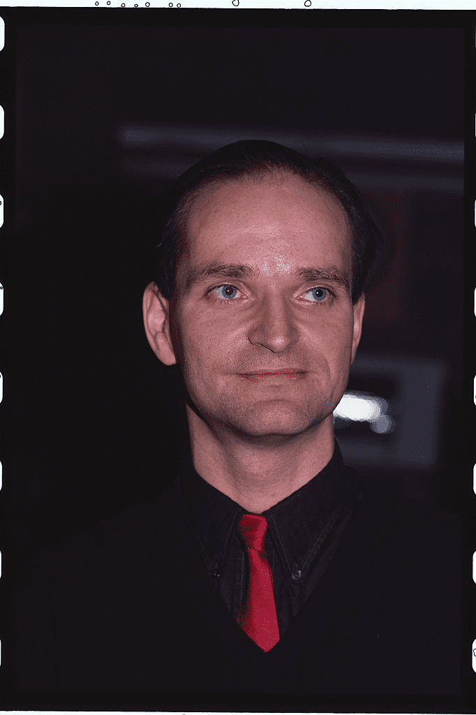 Portrait de Florian Schneider, membre du groupe Kraftwerk. | Photo : Getty Images