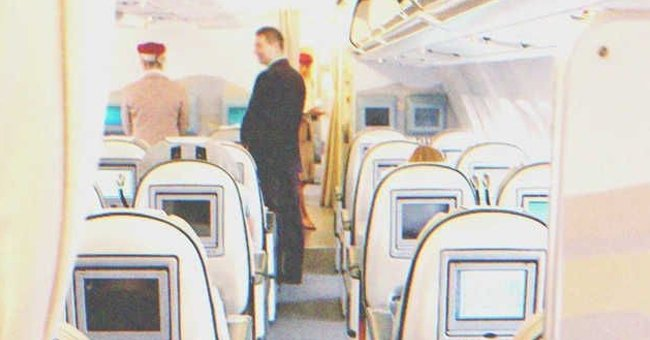 Everyone Stared Silently as Rich Man from First Class Mocked Poor Stewardess the Entire Flight  — Story of the Day