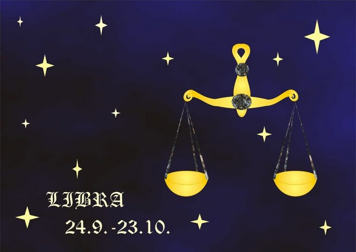 Signo de Libra. | Imagen tomada de: Pixabay