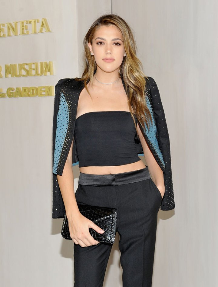 Sistine Stallone at the Hammer Museum 15th Annual Gala  in Los Angeles, California, in October 2017. I Image: Getty Images.