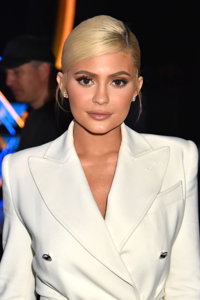 Kylie Jenner during the 2018 MTV Video Music Awards at Radio City Music Hall on August 20, 2018 in New York City. | Source: Getty Images