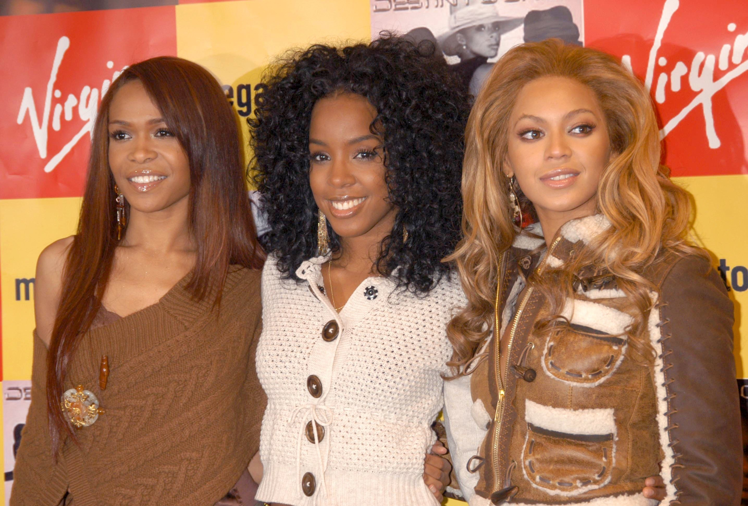 Destiny'S Child At Virgin Megastore, Piccadilly, London, Britain - 01 Nov 2004. | Photo: GettyImages
