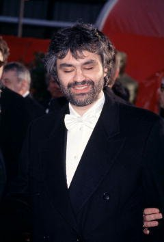 Andrea Bocelli at the 71th Annual Academy Awards in 1999 | Photo: Getty Images
