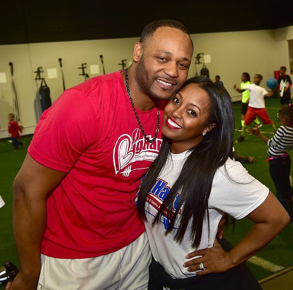 Ed Hartwell and Keshia Knight Pulliam at The Big Hart Sports and Fitness Academy Grand Opening in Duluth.| Photo: Getty Images.