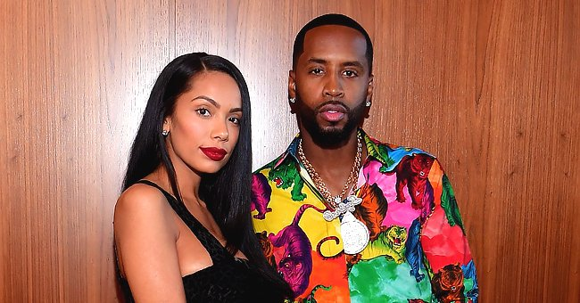 Safaree's Wife Erica Mena & Their Baby Girl Stroll in Matching Pink Outfits in a Cute New Photo