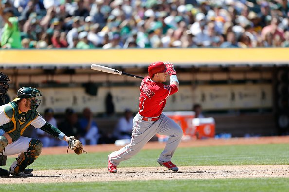 Daniel Robertson at O.co Coliseum on June 21, 2015 in Oakland, California.   Photo: Getty Images