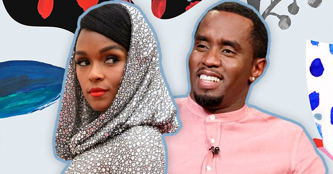 Singer Janelle Monáe Puts Her Beach Body on Display in a Black Bikini in Photo with Diddy