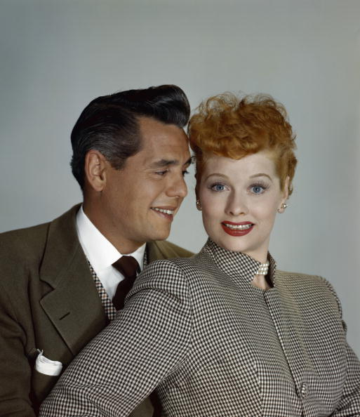Photo of Actress Lucille Ball and her husband actor Desi Arnaz | Photo: Getty Images