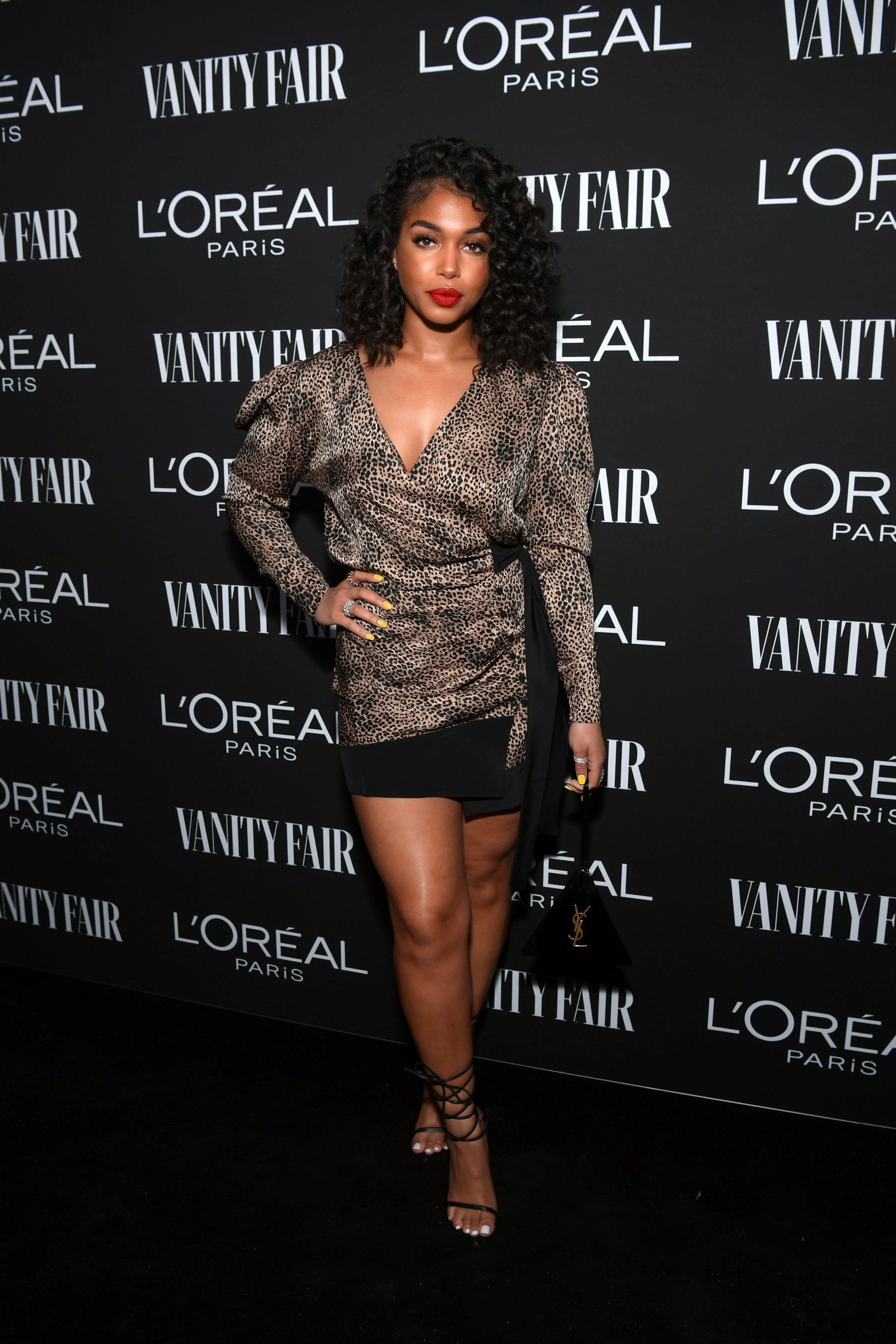 Lori Harvey is seen as Vanity Fair and L'Oréal Paris Celebrate New Hollywood on February 19, 2019 Photo: Getty Images