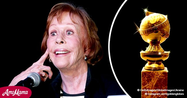 Legendary Carol Burnett to receive the first ever Golden Globe created in her honor