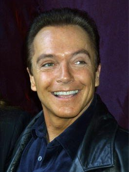 David Cassidy attends unveil the unveiling of the original Santa suit worn by Edmund Gwenn in the original film 'Miracle on 34th Street' December 4, 2001, at Macy's Herald Square in New york City.| Source: Getty Images.