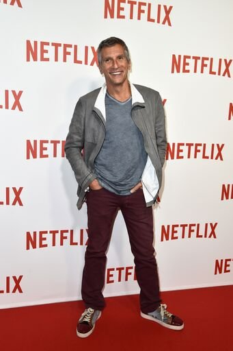Nagui assiste à la soirée de lancement de ''Netflix''. | Photo : Getty Images