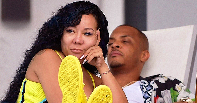 T.I. Shares Sweet Photo with Wife Tiny but Gets Clowned for Having 'Baby Feet'