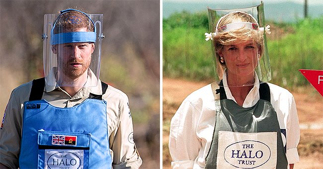 Prince Harry Thanks Late Princess Diana's Key Landmine Charity in a Touching Letter