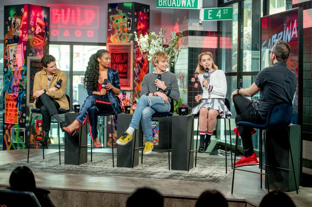 """Kiernan Shipka dIscusses """"Chilling Adventures of Sabrina"""" with the Build Series at Build Studio, 2019
