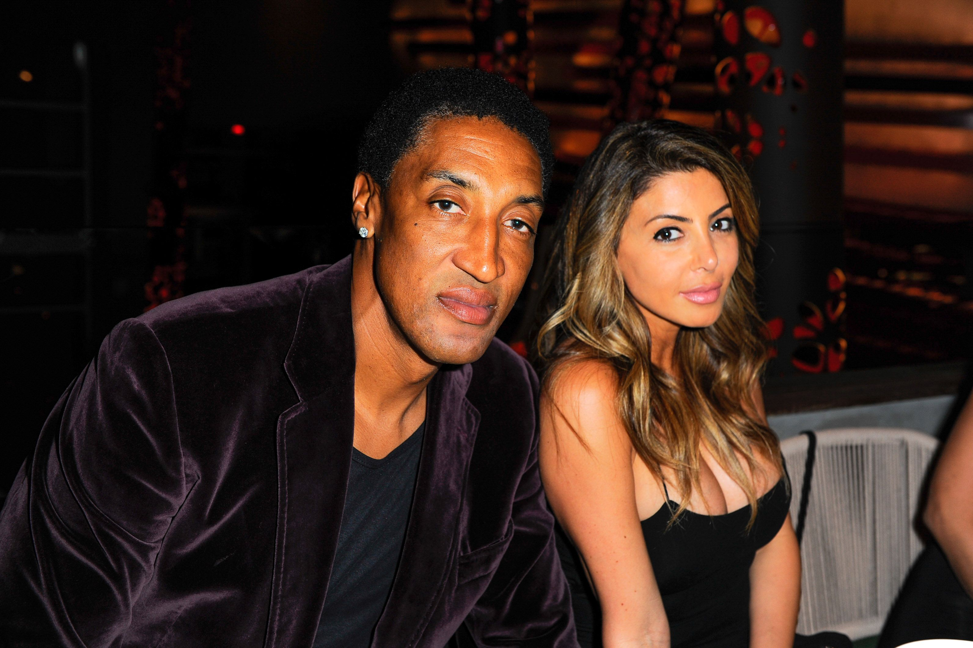 Scottie Pippen and Larsa Pippen at the Avion Reserva 44 Celebrates Kygo's Haute Living Cover at Komodo on March 16, 2016 | Photo: Getty Images