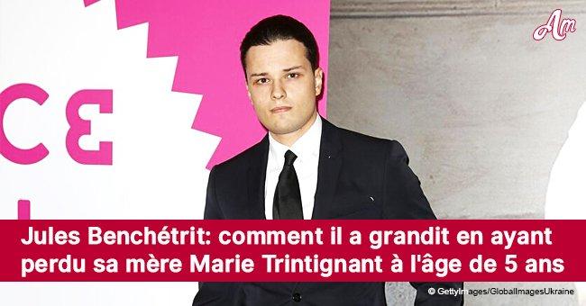 Jules Benchetrit: comment il a grandit en ayant perdu sa mère Marie Trintignant à l'âge de 5 ans