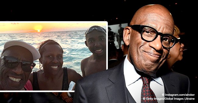 Al Roker shares photos with family while on vacation after revealing son's developmental challenges