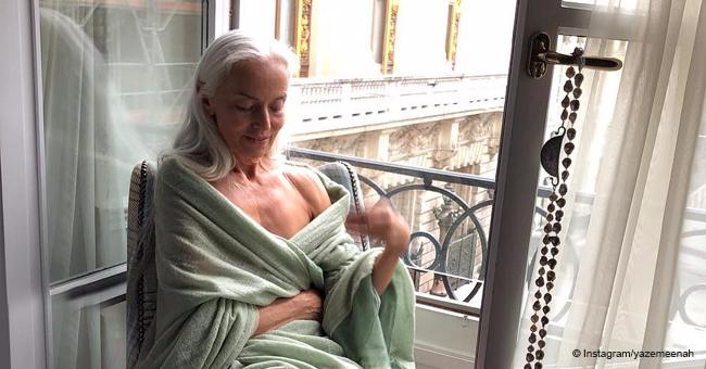 Extrêmement jeune, 63 ans n'a pas honte de son âge et parle ouvertement du secret anti-âge