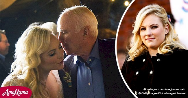 Meghan McCain claps back at haters after wishing her late dad a Merry Christmas in tearful post