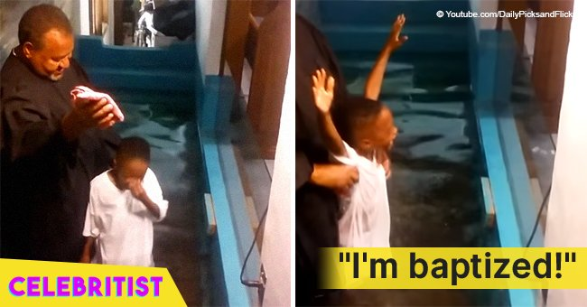 This video of impatient boy baptizing himself because the pastor took too long still melts hearts